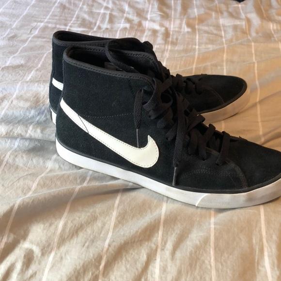 Nike Shoes | Sb Black High Tops Size 95